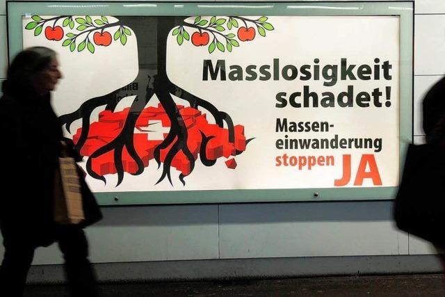 Die Schweiz stimmt über Zuwanderung ab