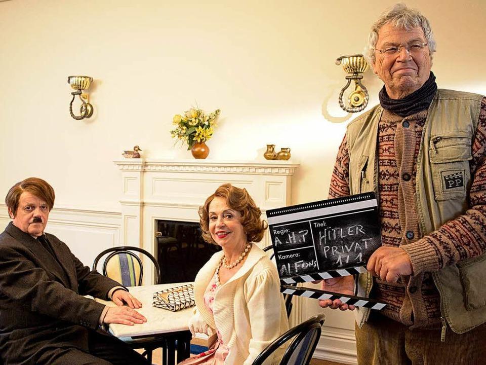 Einen Film will er sich machen: Gerhar... Robert Meyer und Gisela Schneeberger)  | Foto: Majestic