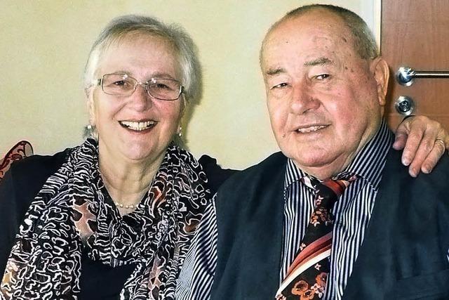 Vor 52 Jahren an der Fastnacht ineinander verliebt
