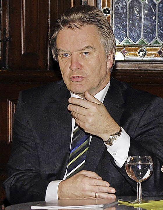 <ppp> und der Minister</ppp>  | Foto: Heidi Foessel