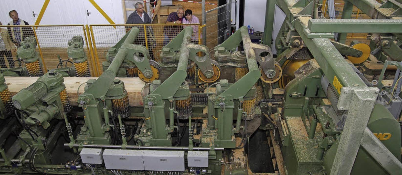 In den großen Holzwerken herrscht auf ...el Betrieb.  Die Nachfrage ist enorm.   | Foto: michael endres