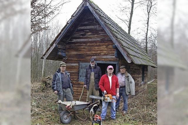 In die Hütte kommt Leben