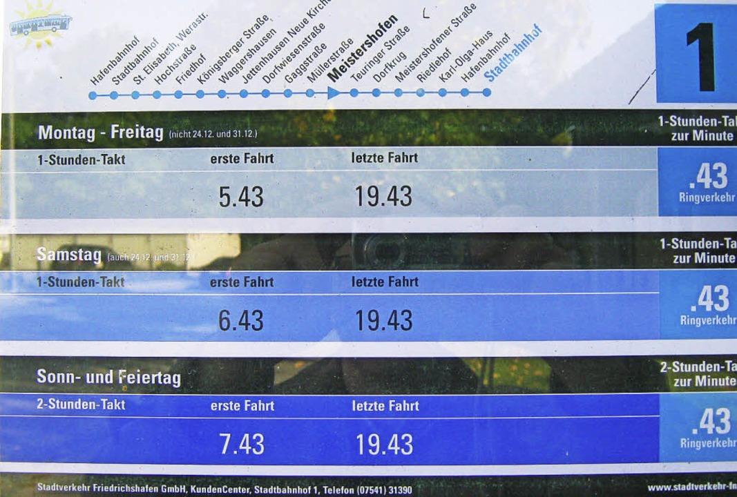 So könnte sich Jürgen Hauke (AGUS) die...t er die Anzeige  in Friedrichshafen.   | Foto: Jürgen Hauke