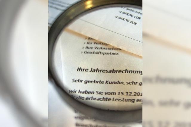 Buchungspanne bei Badenova wegen Sepa - Fehler korrigiert