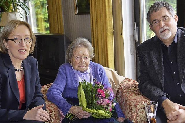 Die älteste Bürgerin von Niederweiler