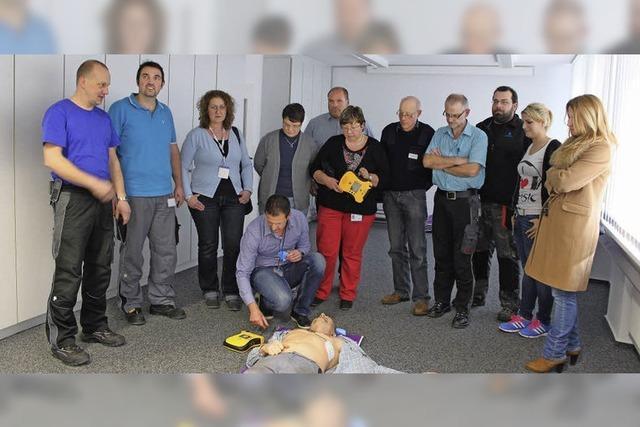 Notfälle am Arbeitsplatz nehmen stetig zu