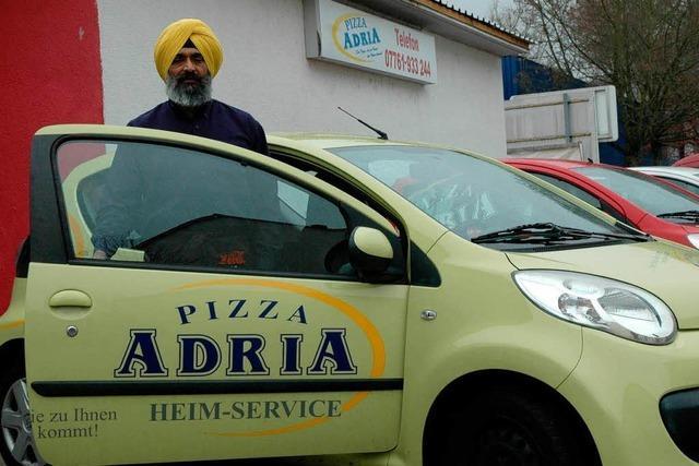 Deutschen Pizzadiensten brechen Schweizer Kunden weg