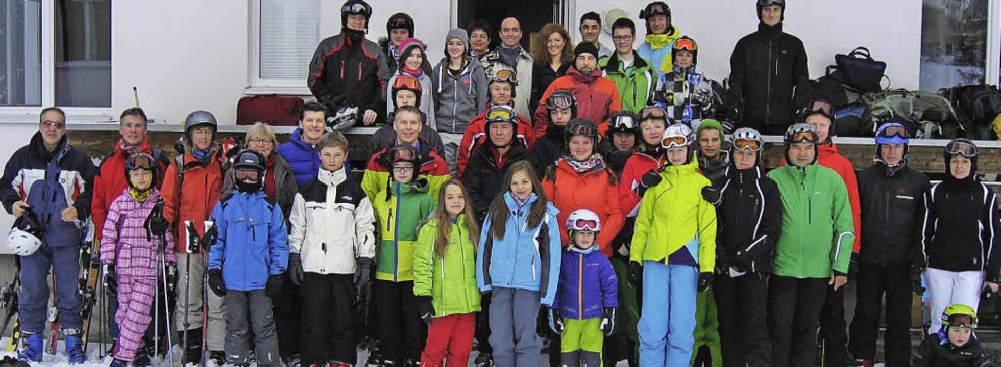 Zwei tolle Skitage verbrachte der TC Haltingen in  Hoch-Ybrig.    Foto: privat