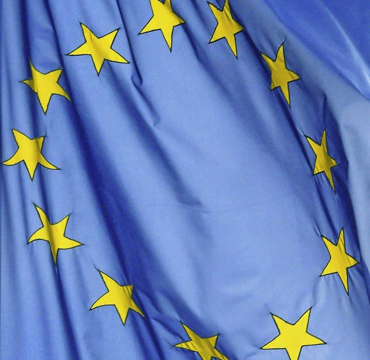 Nicht neu: Gegenüber Europa herrscht noch viel Skepsis     Foto: bz