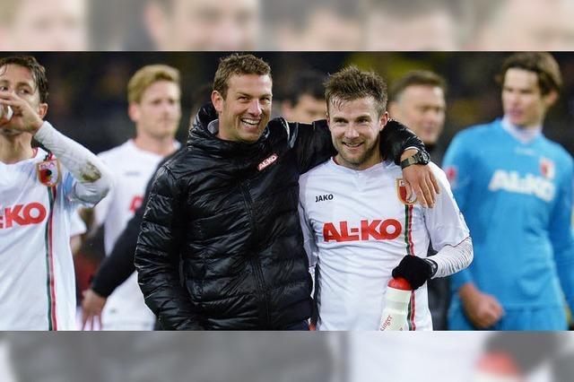 Der FC Augsburg will den Höhenflug genießen