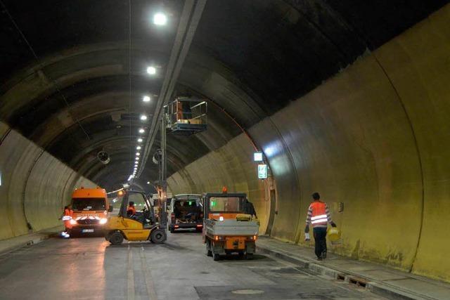 Nächste Sperrungen des Hugenwaldtunnels ab 10. März