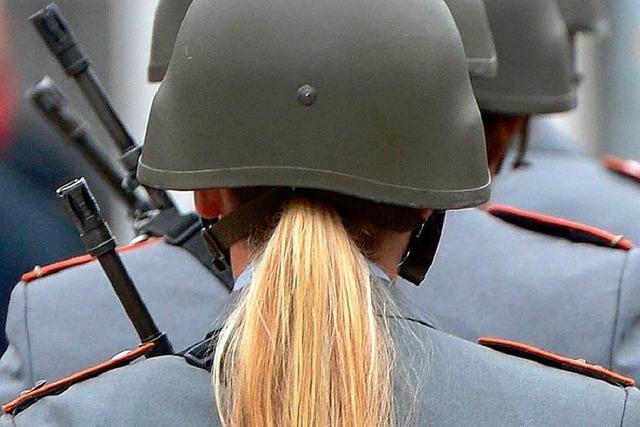 Bundeswehr bietet Frauen Karrierechancen