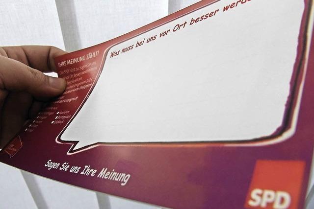 SPD befragt Bürger