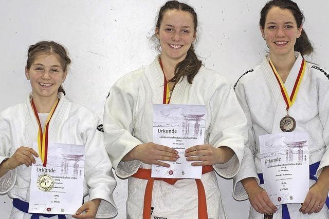 Erfolgreiche Judo-Frauen