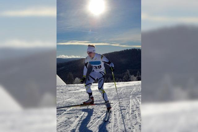 Skilanglauf um Bezirkstitel