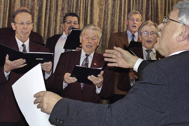 Sänger schlagen zuversichtliche Töne an
