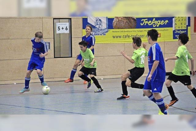 Futsal-Bezirksmeister wird gekürt