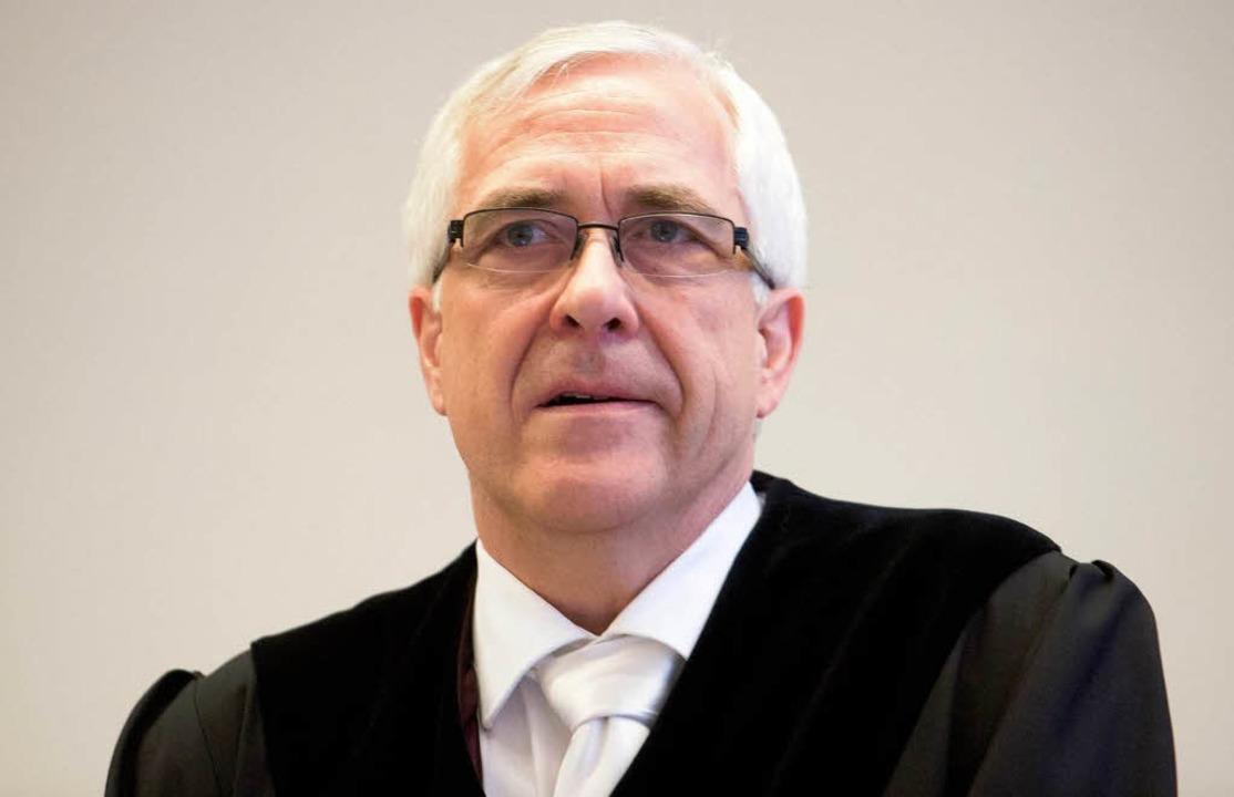 Richter Frank Rosenow ist sauer.  | Foto: dpa