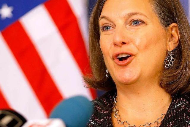 US-Europabeauftragte Victoria Nuland: