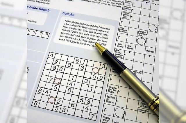 Doppelter Rätselspaß: BZ jetzt auch mit Sudoku