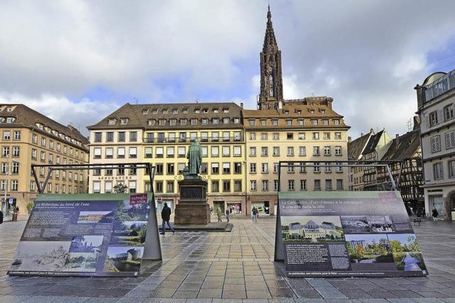 Geschichtsstunde auf dem Gutenberg-Platz