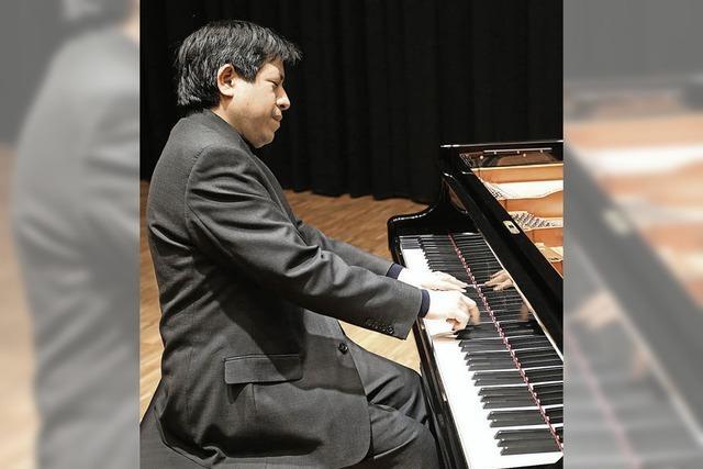 Recital: Der Pianist Vladimir Valdivia spielt in Todtmoos