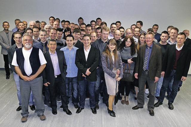 Abschiedsfeier für 51 neue Kfz-Meister