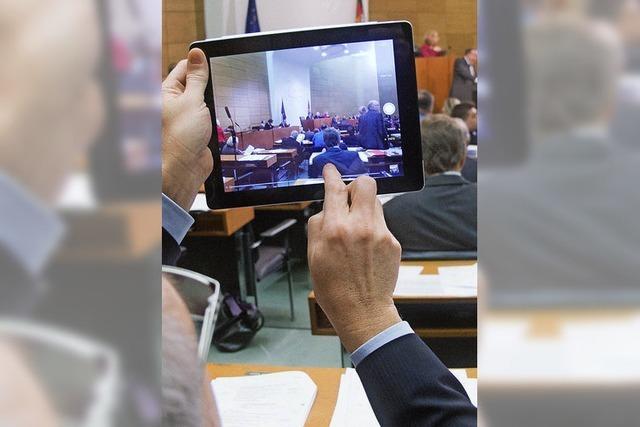SPD-Fraktion will Tablets statt Papier für Stadträte