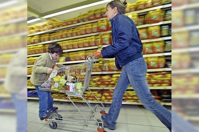Einkaufen contra Bolzen und Rodeln