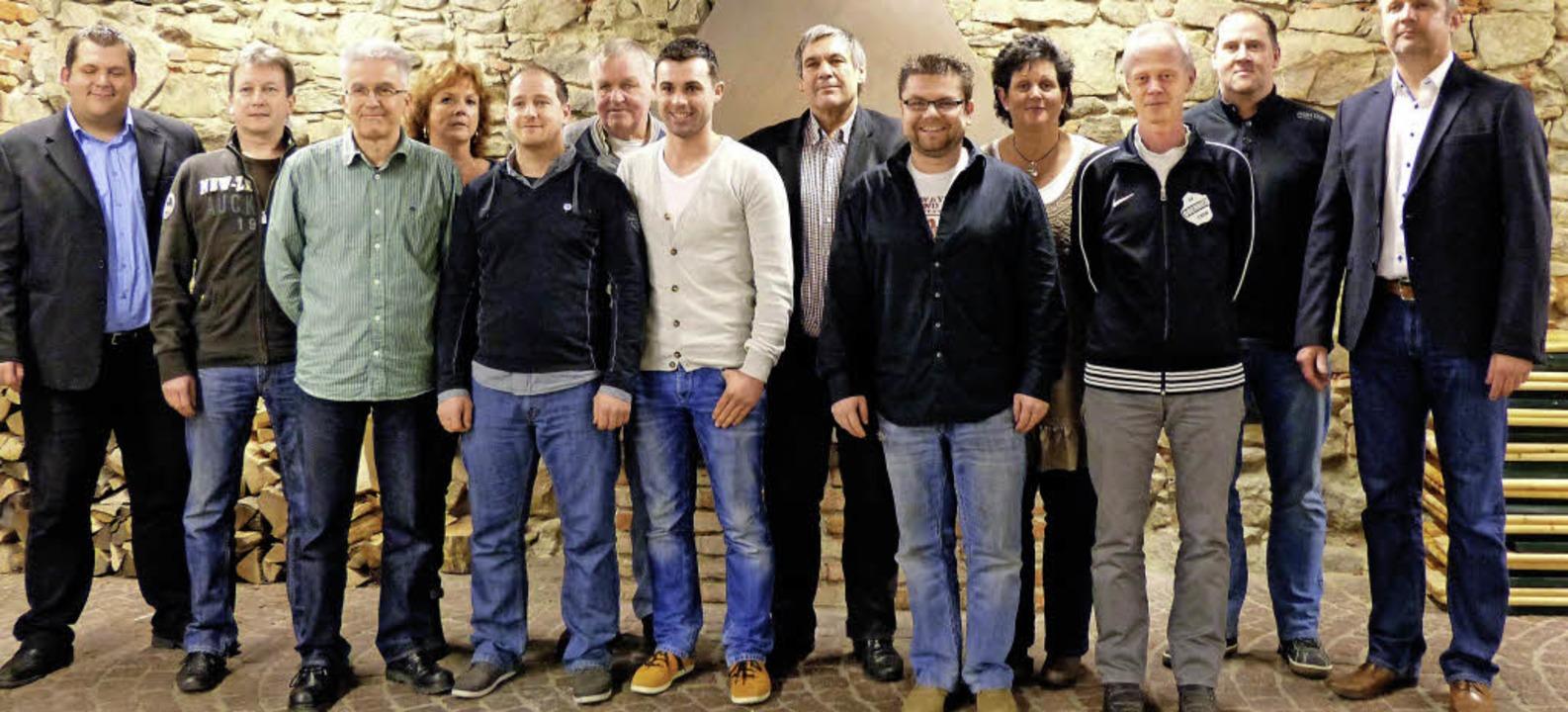 Die neu gewählte Vorstandschaft der Sportfreunde Oberried  | Foto: Barbara Odrich-Rees
