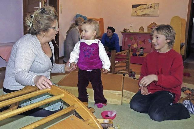 Tag der offenen Tür im Waldorfkindergarten in Buchenbach