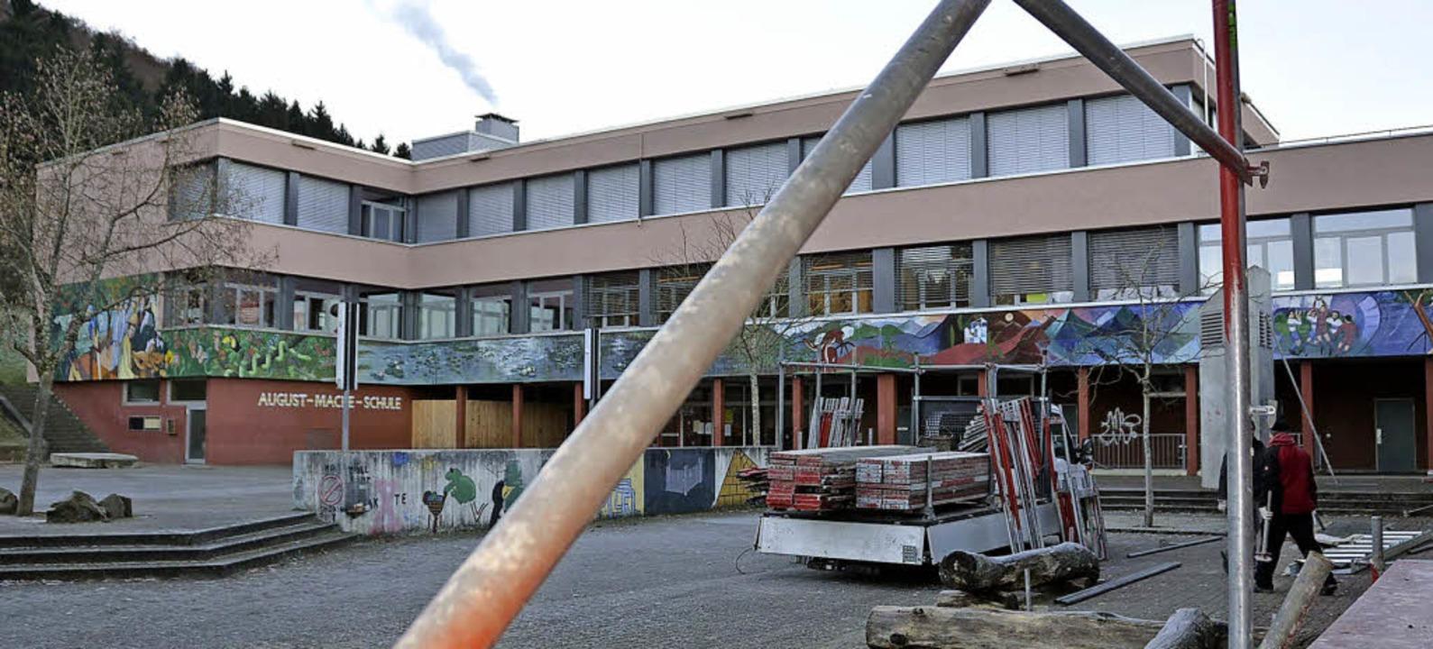 Der Umbau der August Macke-Schule für ...er Gemeinschaftsschule kann beginnen.   | Foto: Maier
