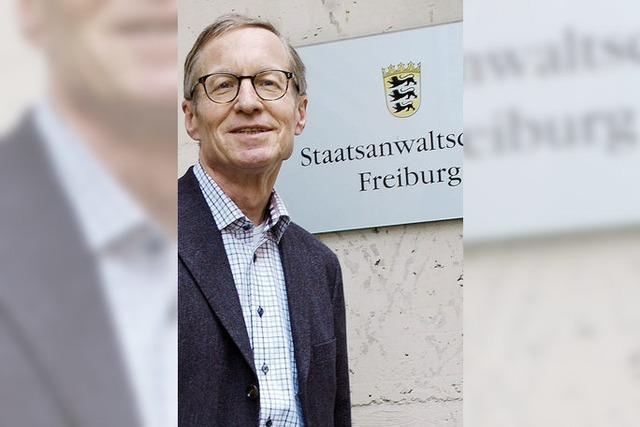 "Oberstaatsanwalt Wolfgang Maier: ""Nichts unter den Teppich kehren"""