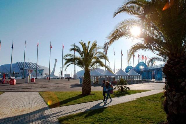 Olympia beginnt auf Zimmer 303 – Eindrücke aus Sotschi