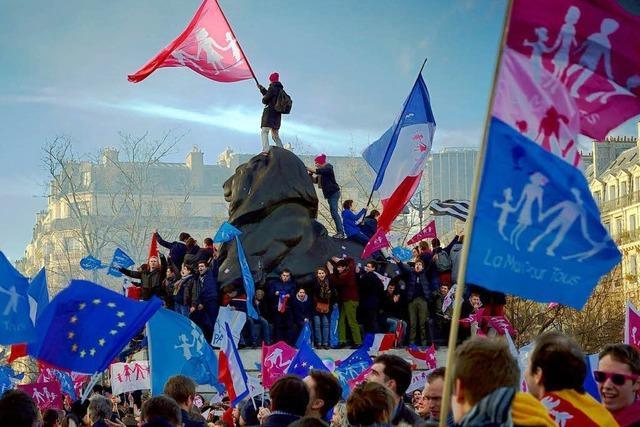 Familienpolitik erzürnt viele Franzosen