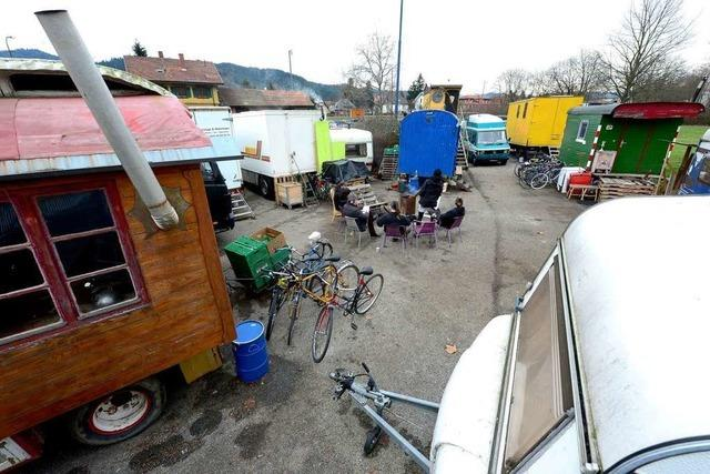 Wagenburg in Littenweiler sucht neues Gelände