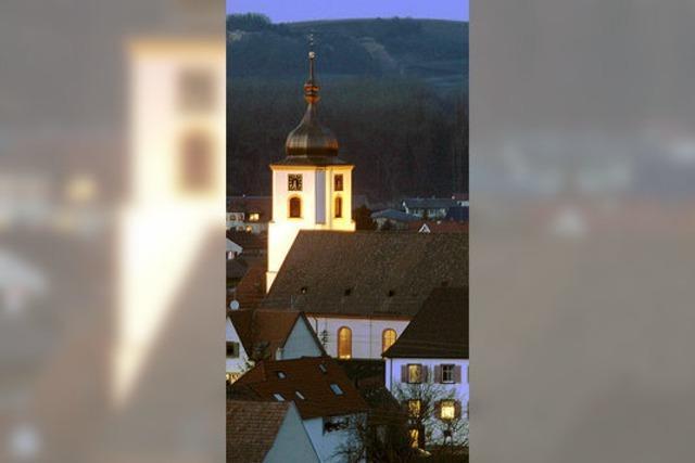Jubiläen rund um Jechtingens Kirche