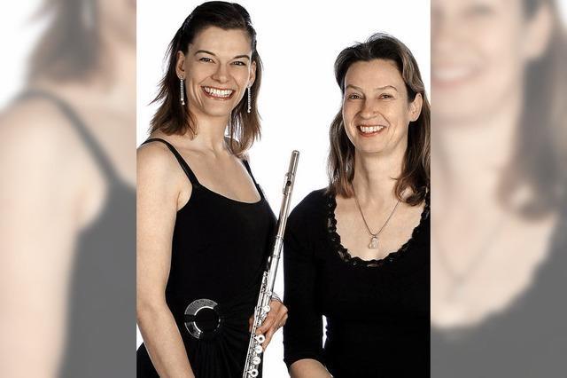 Duo Sentiamo spielt für die Kirche