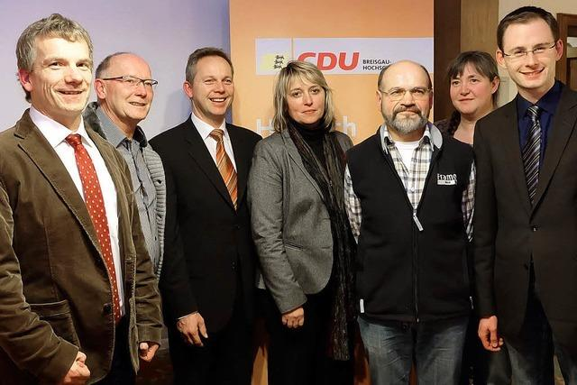 CDU nominiert sieben Kandidaten für den Kreistag