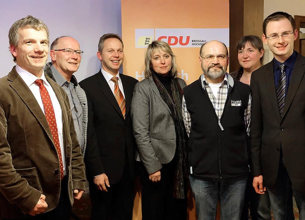 Sie kandidieren für die CDU im Kreista...saat-Winterhalder und Micha Bächle.       Foto: T. Winckelmann