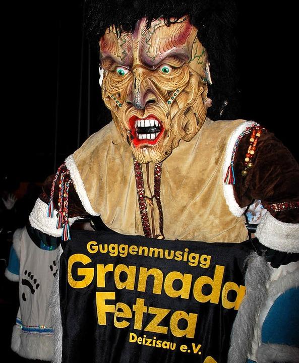 Aus Deizisau bei Stuttgart kamen die &...haurig-schrägen Spiel nach Schopfheim.    Foto: Edgar Steinfelder