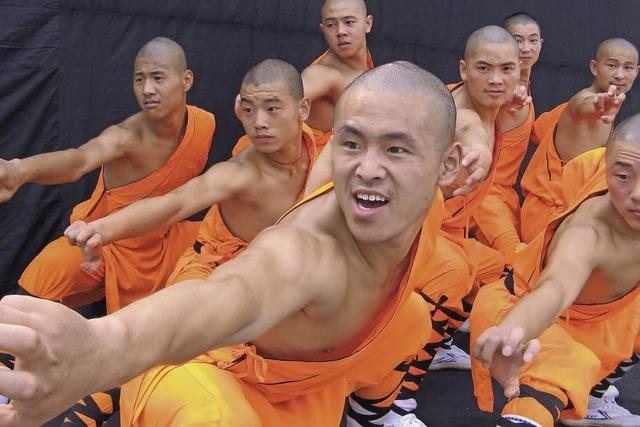 Shaolin Kung Fu-Meister in Denzlingen