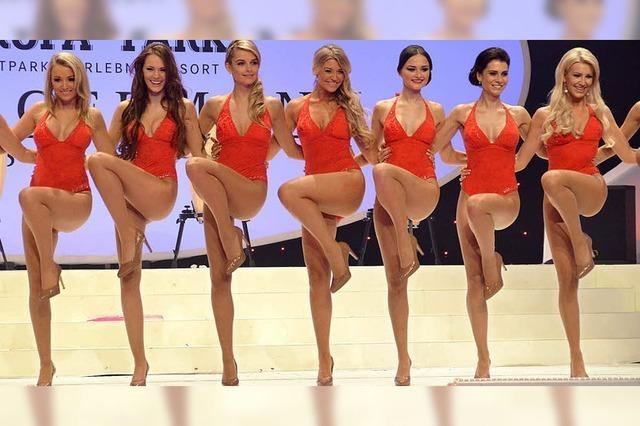 Spektakel mit 24 jungen Damen