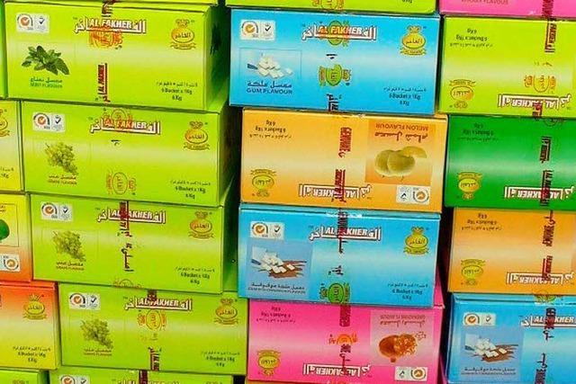 240 Kilogramm Tabak beschlagnahmt