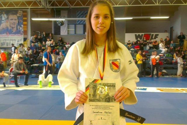 Süddeutscher Judo-Titel für Sandrine Métier