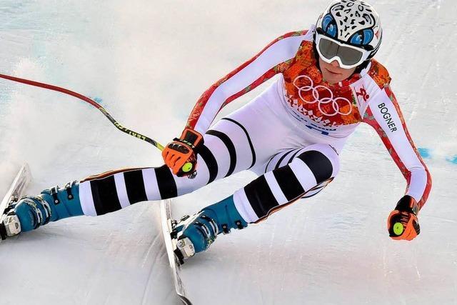Höfl-Riesch erneut Olympiasiegerin in der Super-Kombination