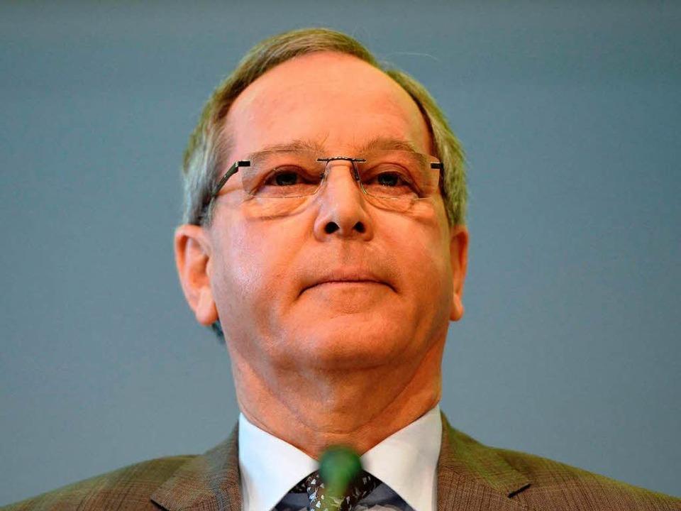 Tritt mit sofortiger Wirkung zurück: ADAC-Präsident Peter Meyer.  | Foto: AFP