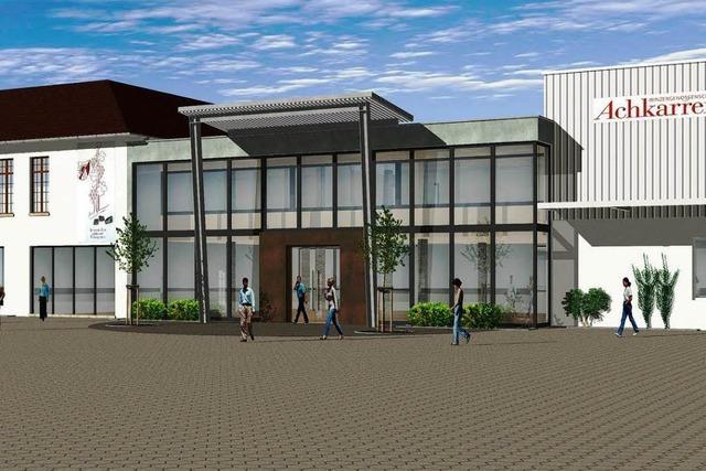 Winzergenossenschaft Achkarren modernisiert Verkaufsraum und Büros