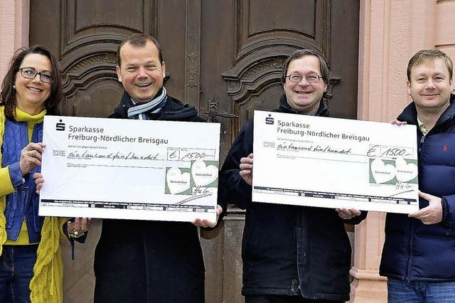 3000 Euro für Kirchengemeinden
