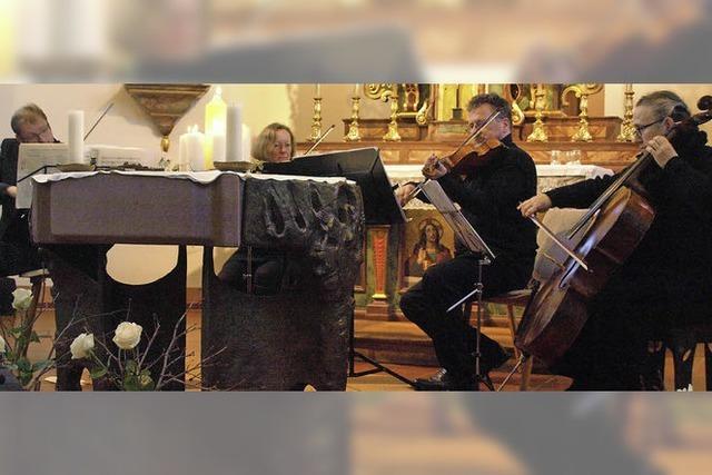 Sternstunden in der Ibacher Kirche
